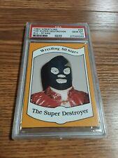 1983 Wrestling All Stars The Super Destroyer Rookie Card PSA 10 WWE WWF NWA AWA