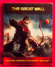 The Great Wall Limited Edition Steelbook Blu-ray NEW
