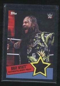 2015 Topps BRAY WYATT Shirt Relic /50 WWE