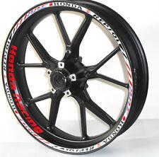 "Adesivi cerchi ruote moto Honda Racing CBR Repsol HRC ""JP041"""