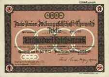 Auto Union ungelocht 1932 Chemnitz Zschopau Zwickau DKW marcheurs AUDI NSU 100 RM