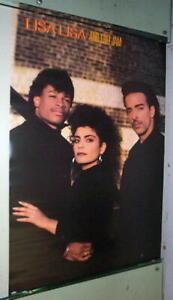 LISA LISA & Cult Jam  Vintage 1987  POSTER
