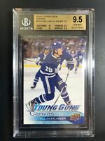 2016-17 William Nylander Young Guns Canvas Rookie BGS 9.5