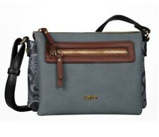 Gabor kl. Handtasche Lilo Crossbag  grau Damen Tasche Umhängetasche 54513