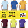 AAA 1301 ALSTYLE MENS PLAIN SHORT SLEEVE T SHIRT CASUAL SHIRTS BASIC COTTON TEE