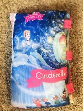 JUMBO Disney Princess CINDERELLA STORY BOOK PILLOW Pillow Large Soft