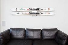 Clipboart ® Fixie Supporto A Parete Supporto A Parete Supporto freeride ski larghezza 66-128mm