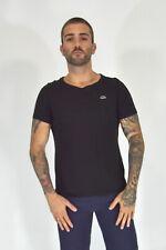 LACOSTE T-Shirt Nera In Cotone Stile Casual TG IT 44 - S Uomo Man