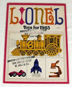 Original Lionel 1965 Catalog