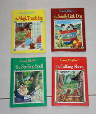 4 x HC books ENID BLYTON - Magic treacle jug, Spelling Spell, Smelly Little Dog