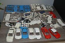 Lots 7 voitures de Rallye, Xsara, Ford focus, Subaru, 206 wrc, Mitsubishi lancer