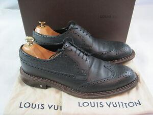 Louis Vuitton Herrenschuhe  ( MT 0136 ) in 44 / UK 9,5 / Topzustand / Schwarz