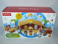 "Fisher Price Little People ""A Christmas Story"" Original Box"