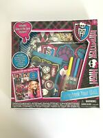 Mattel Monster High Scrapbook Your Wall Picture Frames Glow Stickers & More Kids