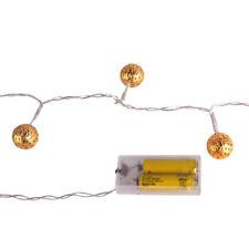 lichtschl uche ketten im kugeln stil mit batterie lichterkette g nstig kaufen ebay. Black Bedroom Furniture Sets. Home Design Ideas