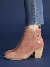 NEW Jeffrey Campbell Roshana Pink Suede Booties Size 6 Boots