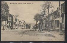 Postcard DOVER Pennsylvania/PA  Main Street Houses/Homes view 1920's