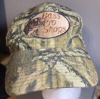 Vintage Redhead Bass Pro Shops Camo Hunting Fishing Adjustable Strapback Hat