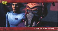 Star Wars Clone Wars Widevision Silver Stamped Parallel Base Card [500] #6