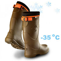 Thermal -35c TRC LIGHTWEIGHT EVA Wellingtons Boots Waterproof Wellies Hunting