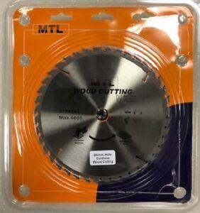 MTL 210mm x 40T x 20mm TCT Circular Saw Blade, Thin Kerf Sawblade Cordless Saws