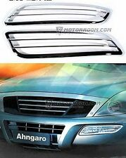 Front Fog Light Cover Fog Lamp Trim for Ssang Yong Rexton '02-'13