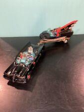VINTAGE Corgi Batmobile, Boat, Trailer & Figures