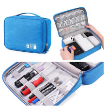 Digital Organizer Storage Case Bag Accessories Leads Mac Tech PC Laptop Power