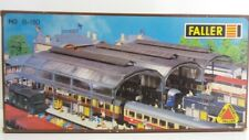 FALLER HO B-180  MODEL TRAIN SHED STATION PLATFORM BUILDING KIT CLEAR ROOF - NEW