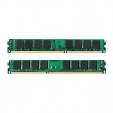 NEW! 4GB 2x2GB PC3-10600 1333MHZ DDR3 240pin for HP Compaq Pro 3010 Microtower
