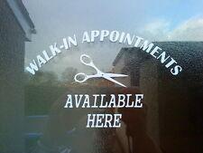 beauty salon nail bar beautician shop window signs doors business vinyl sticker