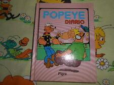 DIARIO SCUOLA Popeye Braccio di Ferro Pigna Diary