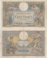 Gertbrolen Rare 100 FRANCS( LUC OLIVIER MERSON )  du 10-7-1908   A.322 avec LOM