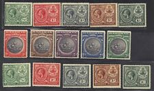 BAHAMAS 1920-30 KING GEORGE V SG 106-110 2 SETS & SG 126-30 HINGED UNCHECKED FOR