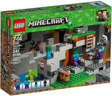 Lego 21141 Minecraft The Zombie Cave BRAND and
