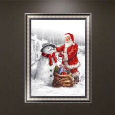 DIY 5D Diamond Embroidery Painting Santa Claus Cross Stitch Art Christmas Decor
