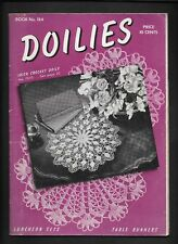 Doilies Book 184 Fashion Patriotic Home Decor Irish Crochet Pattern Vintage 1942