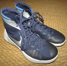 2015 Nike Hyperdunk Womens TB Navy/Metallic Silver Size 11 Basketball Shoes 7498