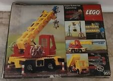 Lego 955 Technic Expert Builder Mobile Crane Near Complete With Box & Paperwork