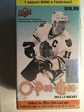 2012/13  UPPER DECK OPEECHEE BLISTER BOX FACTORY SEALD