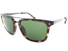CALVIN KLEIN Sunglasses Brown Tortoise / Dark Green Lens CK1214 214