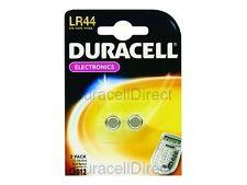 Duracell Battery Alkaline for Calculator or Pager 1.5v Ref LR44 PK 2