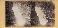 Photo Stereo V. Frank Saint-Dié-des-Vosges Vintage albumine