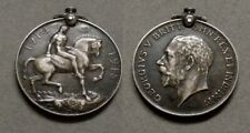 Decent Great Britain George V Wwi Silver Service Medal
