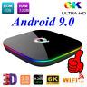 Q Plus 4GB/32GB 6K Android 9.0 TV BOX Allwinner H6 Quad Core USB 3D Media WiFi