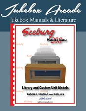 NEW, Seeburg Engineers Manual for Library Units 200CU-1 200CU-3 and 200LU-3