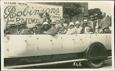Scarborough.  Robinson's 'White Lounge Coaches' - Charabanc.  Rl.314