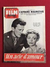 """1954, Kirk Douglas, """"LE FILM COMPLET"""" Magazine (Scarce)"""