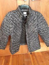 Bnwot Joules Black And Cream Puffa Jacket Size 14