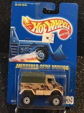 Hot Wheels~1992~Collector No. 239~Mercedes-Benz Unimog~See Description